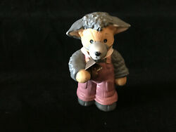 Lucy amp; Me Halloween Bear Wolf Dressed In Sheep Clothing Enesco Lucy Rigg 1990 $24.95