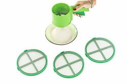 3 in 1 Automatic Kitchen Flour Atta Sifter Sieves Strainer Chalani $22.00