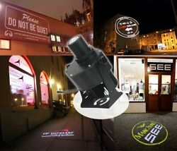 US 40W LED Gobo Projector Outdoor Remote Contro Advertising Logo Light Meanwell $200.45