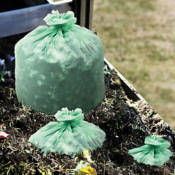 Stout EcoSafe6400 Compostable Compost Bags .85mil 42 x 48 Green 40 Box E4248E85 $47.76
