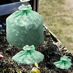 Stout EcoSAfe 6400 Compostable Compost Bags .85mil 48 x 60 Green 30 Box E4860E85 $49.58