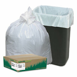 Earthsense Recycled Tall Kitchen Bags 13 16gal .8mil 24 x 33 White 150 Bags Box $20.82