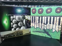 Cursive Such Blinding Stars For Starving Eyes THE UGLY ORGAN Original Presses $35.00