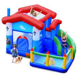 Kids Inflatable Bounce House Jump Bouncer Slide Castle Ball Pit Without Blower $239.99