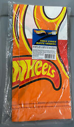 2003 Hallmark Party Express Hot Wheels Birthday Party Table Cover 54quot; x 89.25quot; $5.99