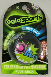 New Glow In The Dark Foot Sack Oglo Sports New Green Blue Red Hacky $10.99