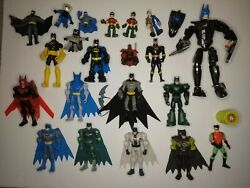 Huge Lot of Batman Toy Action Figures and Lego Batman 23 pieces $42.99