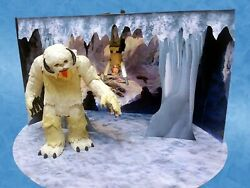 Wampa Ice Cave Custom Pop Up Playset for Hasbro Kenner Star Wars 3 3 4quot; Figures $25.00