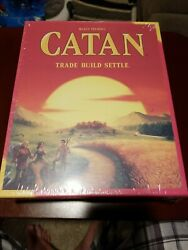 CATAN BOARD GAME NEW IN SEALED BOX TRADE BUILD SETTLE KLAUS TEUBER See Photos $19.99