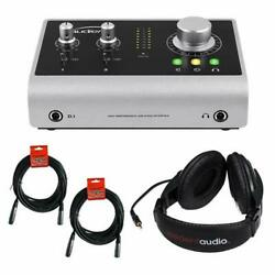 Audient iD14 High Performance USB Audio Interface Bundle $299.00