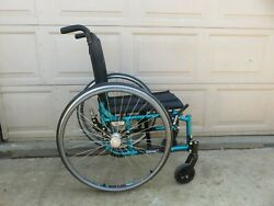 Quickie 2 Folding Manual Wheelchair 14quot; X 16quot; used light weight
