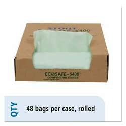 Stout® by Envision EcoSafe 6400 Compostable Compost Bags 1.1mil 733878701624 $53.82