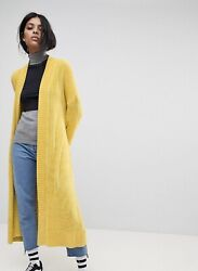 ASOS Cardigan in Maxi Length in Chenille Size US 6 $56 $14.00