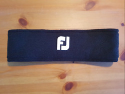 USED FootJoy Winter Microfleece Earband Black Headband $10.00