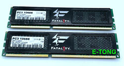 OCZ Fatal1ty Edition 4GB 2x2GB DDR3 1333 PC3 10666 COZ3F13334GK DIMM Desktop RAM $18.00