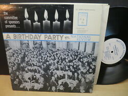 A Birthday Party for National Review strongVG Private Press POLITICAL LP $19.95