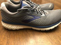 Brooks Ghost 12 Men's Size 11 Gray Blue Athletic Road Running Shoes X5 798 $50.00