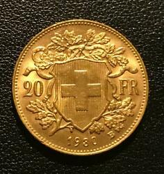 Swiss 20 Franc gold coins $450.00