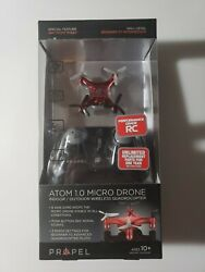Propel Atom 1.0 Micro Drone Wireless Quadrocopter Shiny Red New $15.99