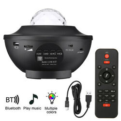 LED Starry Projector Night Sky Light Music Player Remote Control Mood Lamp Gift $26.99