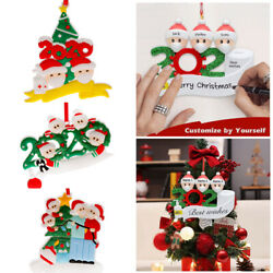 2020 Christmas Ornaments Indoor DIY Personalized Gifts for 1 7 Family Members