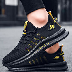 Men#x27;s Athletic Sneakers Running Outdoor Casual Walking Tennis Gym Sports Shoes $20.58