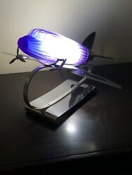 1978 DC 3 Airplane Lamp by Sarsaparilla Deco Designs $330.00