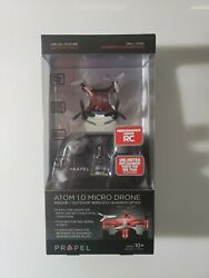 NEW Atom 1.0 Micro Drone Indoor Outdoor Wireless Quadrocopter Red $17.99