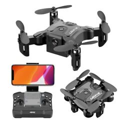 Foldable rc mini drone with hd camera WIFI FPV Quadcopter Toy $65.00