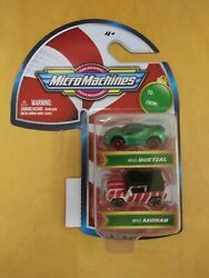 Micro Machines 2020 Christmas Holiday 2 pack Quetzal amp; Morab. NEW $6.30