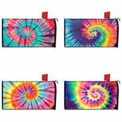 Tie Dye Design Home Garden Decoration Magnetic Mailbox Covers Standard $19.79