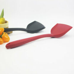 For Non stick Pan Silicone Cooking Utensils Easy Clean Turner Spatula Kitchen $7.56