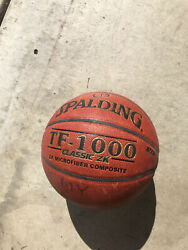 "Spalding Basketball Classic ZK TF 1000 29.5"" Used $35.00"