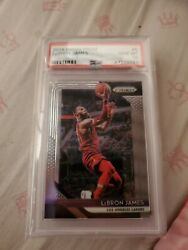 2018 Panini Prizm LeBron James #6 Psa 10 Gem Mint $150.00