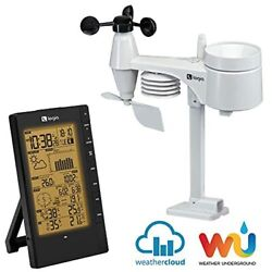 Logia 5 in 1 Weather Station Indoor Outdoor Remote Monitoring System Reads Tem $99.99