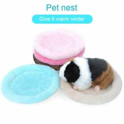 PP Cotton Velvets Pet Beds Soft Plush Bed Cages For Hamsters Simple Pets Bed New $11.36