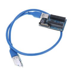 PCI X1 To Dual Adapter 4X Router PCI Slot Vertical $18.70