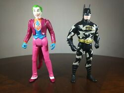 Vintage 1990 Batman Toy Lot DC Comics Justice League $9.10