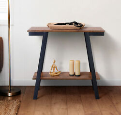 Zenvida Console Table Narrow Sofa Table With Storage for Living Room Entryway $79.00