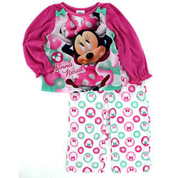 Pajamas Minnie Mouse Girls Long Sleeve Poly size 4T $12.95
