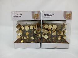 Magnetic Chandelier Locker Style Gold . Never used $24.00