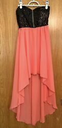 Junior Party Cocktail Dress Prom Dress Formal Dress Night Out Dress Size Small $19.99