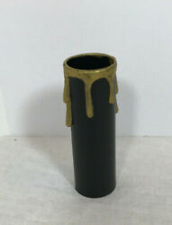 Chandelier Socket Covers 4quot; Black Set of 5 Candelabra New $8.50