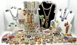 1 LB Pound Jewelry Vintage Modern Huge Lot ALL GOOD Wear RESELL Pirate Treasure $26.99