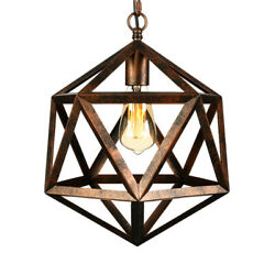 Industria Rustic Style Kitchen Pendant Light Vintage Big Hanging Lamp Lighting $59.99