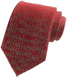 Mens Big Boys Novelty Fun Merry Christmas Tie Patterned Fancy Necktie by Secdtie $33.32