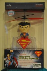 Propel RC Flying Superman Figure Motion Control Drone Helicopter DC Comics New $17.99