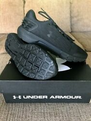 Under Armor Charged Rogue Men's Running Shoe#x27;s Size 12.5 Triple Black $49.99