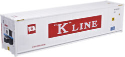 Atlas HO Scale 40#x27; Reefer Container 3 Pack K Line Set #1 694116 694279 694316 $39.99