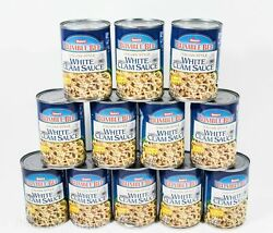 12 cans Snow#x27;s Bumble Bee ITALIAN Style WHITE Clam Sauce 15oz can 02 2023 DENTED $36.99